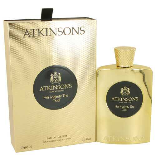 Her Majesty The Oud by Atkinsons Eau De Parfum Spray 3.3 oz (Women)