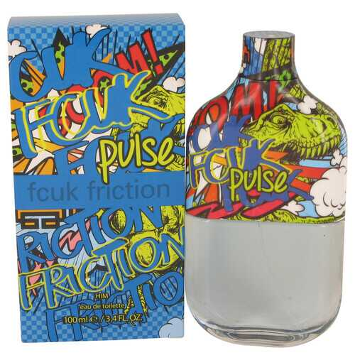 FCUK Friction Pulse by French Connection Eau De Toilette Spray 3.4 oz (Men)