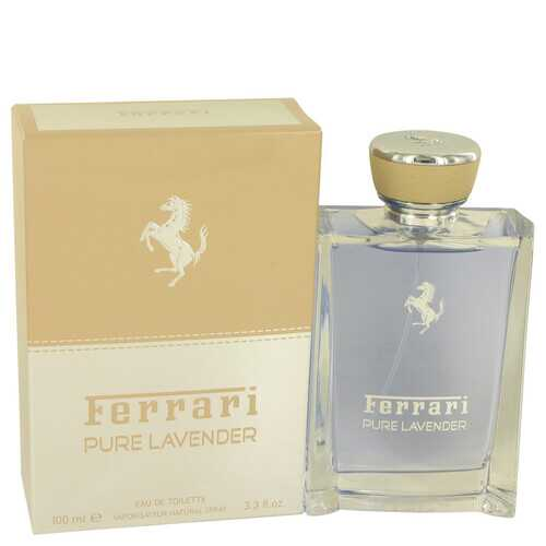 Ferrari Pure Lavender by Ferrari Eau De Toilette Spray (Unisex) 3.4 oz (Men)