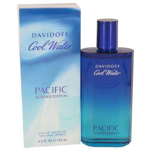 Cool Water Pacific Summer by Davidoff Eau De Toilette Spray 4.2 oz (Men)