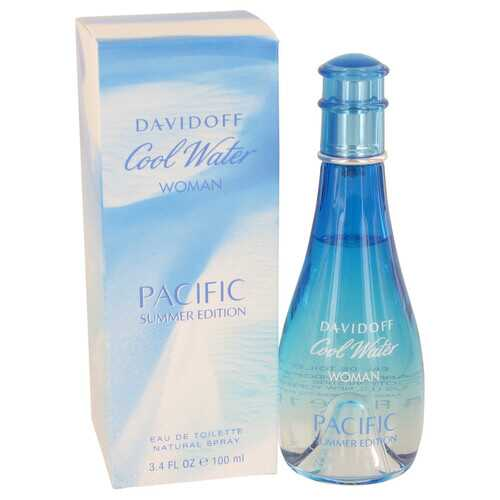 Cool Water Pacific Summer by Davidoff Eau De Toilette Spray 3.4 oz (Women)
