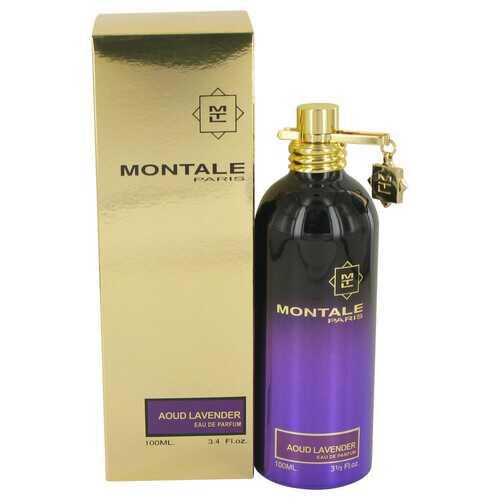 Montale Aoud Lavender by Montale Eau De Parfum Spray (Unisex) 3.4 oz (Women)