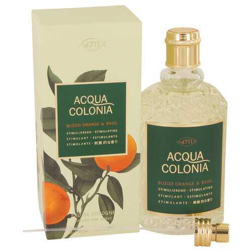 4711 Acqua Colonia Blood Orange & Basil by Maurer & Wirtz Eau De Cologne Spray (Unisex) 5.7 oz (Women)