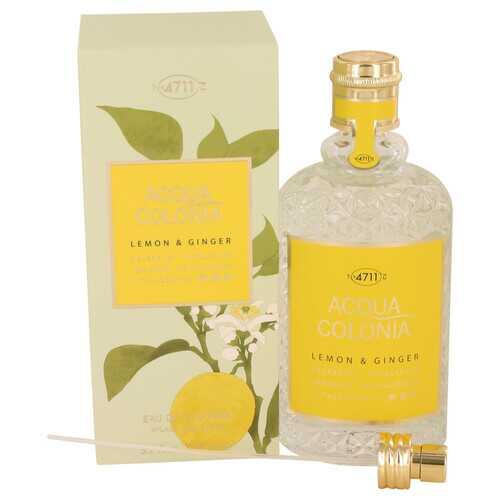 4711 ACQUA COLONIA Lemon & Ginger by Maurer & Wirtz Eau De Cologne Spray (Unisex) 5.7 oz (Women)