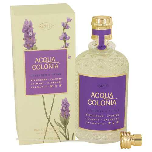 4711 ACQUA COLONIA Lavender & Thyme by Maurer & Wirtz Eau De Cologne Spray (Unisex) 5.7 oz (Women)
