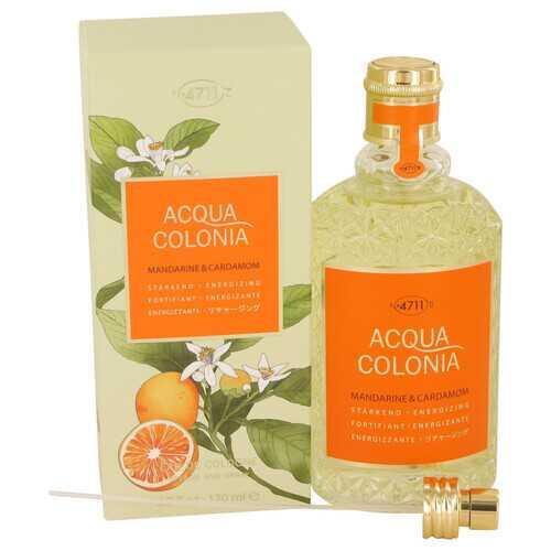 4711 Acqua Colonia Mandarine & Cardamom by Maurer & Wirtz Eau De Cologne Spray (Unisex) 5.7 oz (Women)
