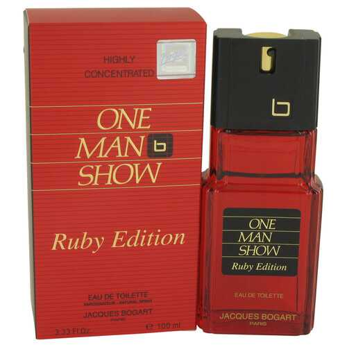 One Man Show Ruby by Jacques Bogart Eau De Toilette Spray 3.3 oz (Men)