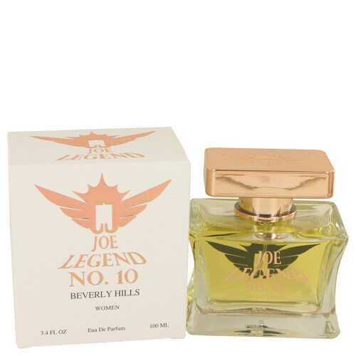 Joe Legend No. 10 by Joseph Jivago Eau De Parfum Spray 3.4 oz (Women)