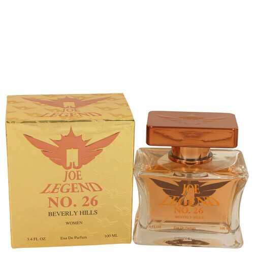 Joe Legend No. 26 by Joseph Jivago Eau De Parfum Spray 3.4 oz (Women)