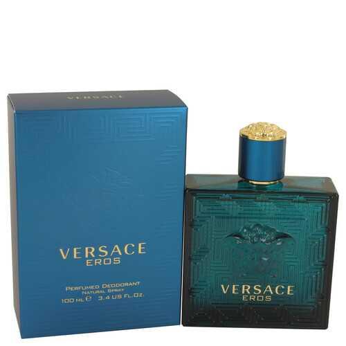 Versace Eros by Versace Deodorant Spray 3.4 oz (Men)