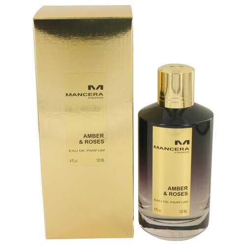 Mancera Amber & Roses by Mancera Eau De Parfum Spray (Unisex) 4 oz (Women)