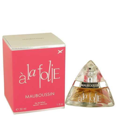 Mauboussin A La Folie by Mauboussin Eau De Parfum Spray 1 oz (Women)