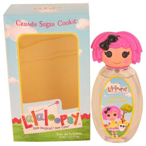 Lalaloopsy by Marmol & Son Eau De Toilette Spray (Crumbs Sugar Cookie) 1.7 oz (Women)