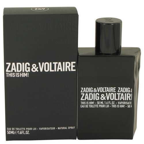 This is Him by Zadig & Voltaire Eau De Toilette Spray 1.6 oz (Men)