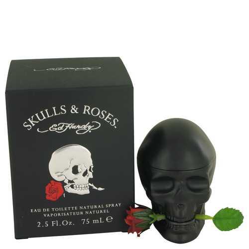 Skulls & Roses by Christian Audigier Eau De Toilette Spray 2.5 oz (Men)
