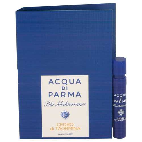 Blu Mediterraneo Cedro Di Taormina by Acqua Di Parma Vial (sample) .04 oz (Women)