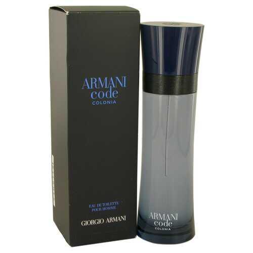 Armani Code Colonia by Giorgio Armani Eau De Toilette Spray 4.3 oz (Men)