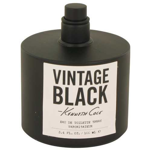 Kenneth Cole Vintage Black by Kenneth Cole Eau De Toilette Spray (Tester) 3.4 oz (Men)