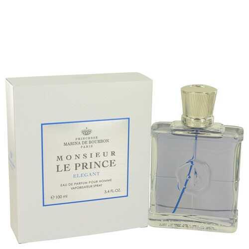 Monsieur Le Prince Elegant by Marina De Bourbon Eau De Parfum Spray 3.4 oz (Men)