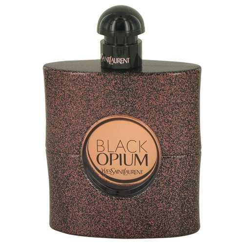 Black Opium by Yves Saint Laurent Eau De Toilette Spray (Tester) 3 oz (Women)