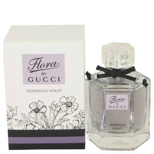 Flora Generous Violet by Gucci Eau De Toilette Spray 1.7 oz (Women)