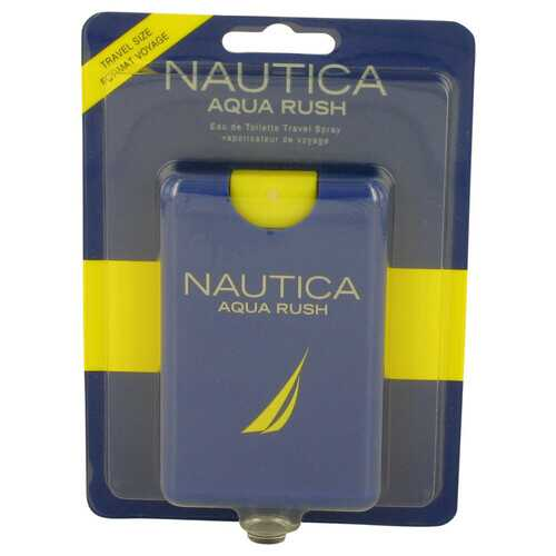 Nautica Aqua Rush by Nautica Eau De Toilette Travel Spray .67 oz (Men)