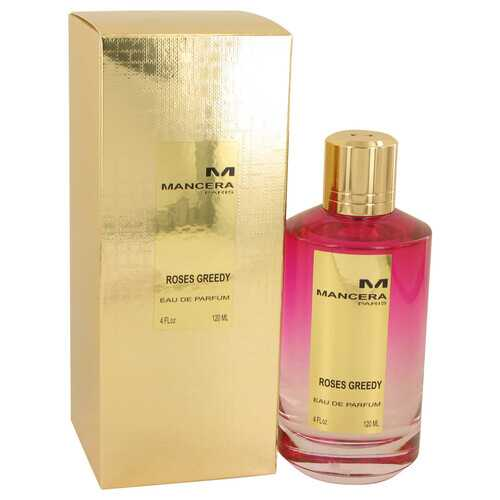 Mancera Roses Greedy by Mancera Eau De Parfum Spray (Unisex) 4 oz (Women)