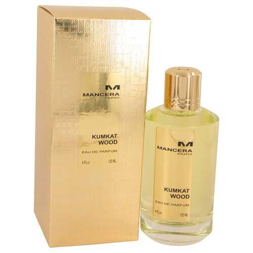 Mancera Kumkat Wood by Mancera Eau De Parfum Spray (Unisex) 4 oz (Women)