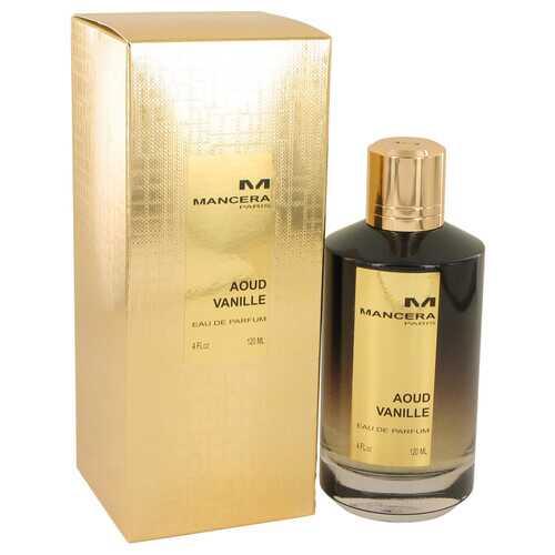 Mancera Aoud Vanille by Mancera Eau De Parfum Spray (Unisex) 4 oz (Women)