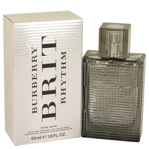 Burberry Brit Rhythm Intense by Burberry Eau De Toilette Spray 1.7 oz (Men)