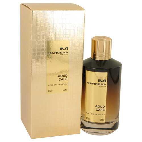 Mancera Aoud Caf by Mancera Eau de Parfum Spray (Unisex) 4 oz (Women)