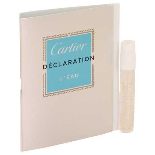 Declaration L'eau by Cartier Vial (sample) .05 oz (Men)