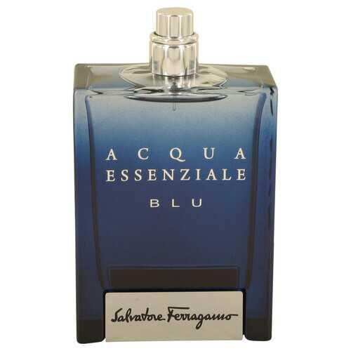 Acqua Essenziale Blu by Salvatore Ferragamo Eau De Toilette Spray (Tester) 3.4 oz (Men)
