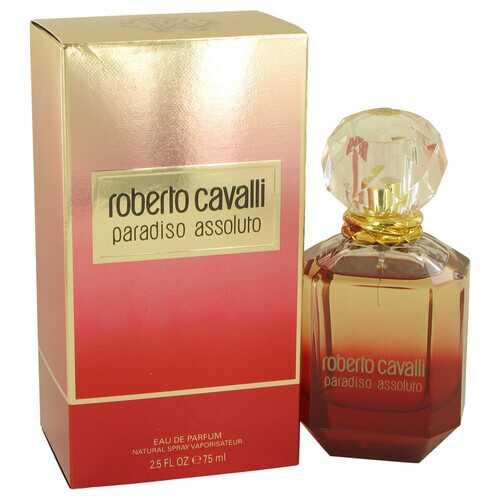 Roberto Cavalli Paradiso Assoluto by Roberto Cavalli Eau De Parfum Spray 2.5 oz (Women)