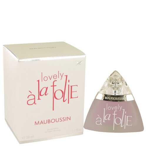 Mauboussin Lovely A La Folie by Mauboussin Eau De Parfum Spray 1.7 oz (Women)