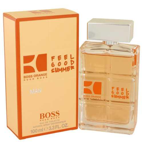 Boss Orange Feel Good Summer by Hugo Boss Eau De Toilette Spray 3.3 oz (Men)