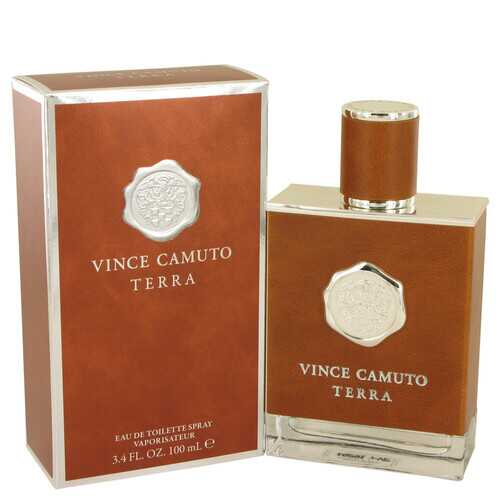 Vince Camuto Terra by Vince Camuto Eau De Toilette Spray 3.4 oz (Men)