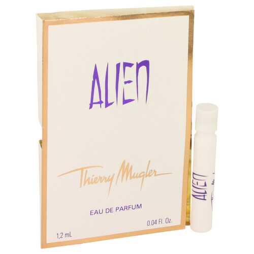 Alien by Thierry Mugler Vial EDP Spray (sample on card) .04 oz (Women)