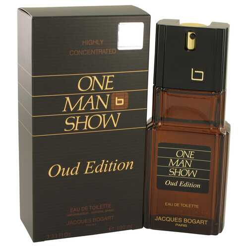 One Man Show Oud Edition by Jacques Bogart Eau De Toilette Spray 3.4 oz (Men)
