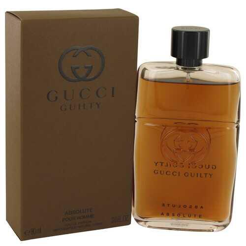 Gucci Guilty Absolute by Gucci Eau De Parfum Spray 3 oz (Men)