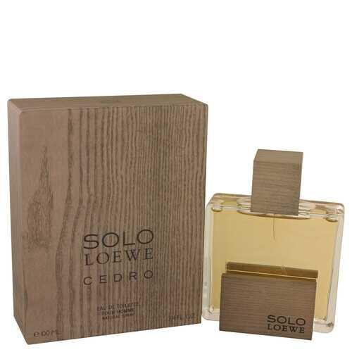 Solo Loewe Cedro by Loewe Eau De Toilette Spray 3.4 oz (Men)