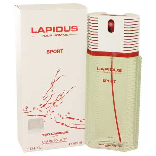 Lapidus Pour Homme Sport by Lapidus Eau De Toilette Spray 3.33 oz (Men)