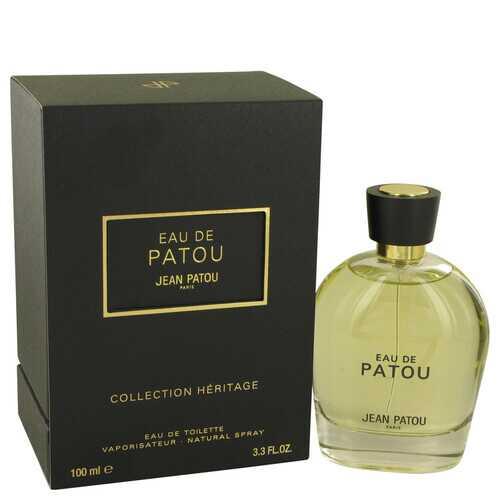 EAU DE PATOU by Jean Patou Eau De Toilette Spray (Heritage Collection Unisex) 3.4 oz (Men)