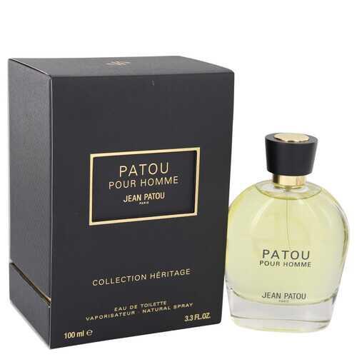 Patou Pour Homme by Jean Patou Eau De Toilette Spray (Heritage Collection) 3.4 oz (Men)