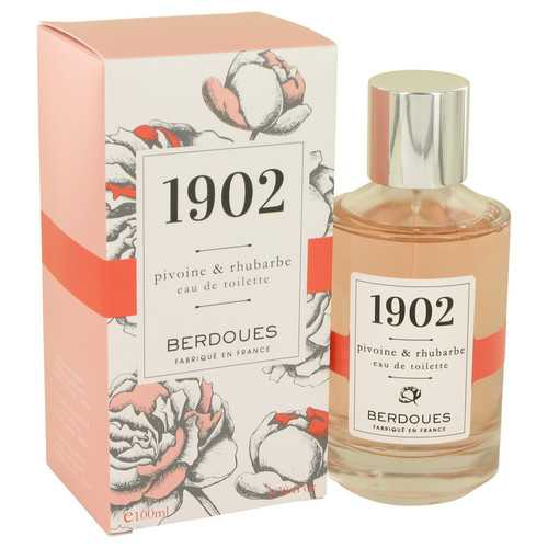 1902 Pivoine & Rhubarbe by Berdoues Eau De Toilette Spray 3.38 oz (Women)