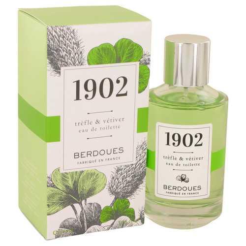 1902 Trefle & Vetiver by Berdoues Eau De Toilette Spray 3.38 oz (Women)