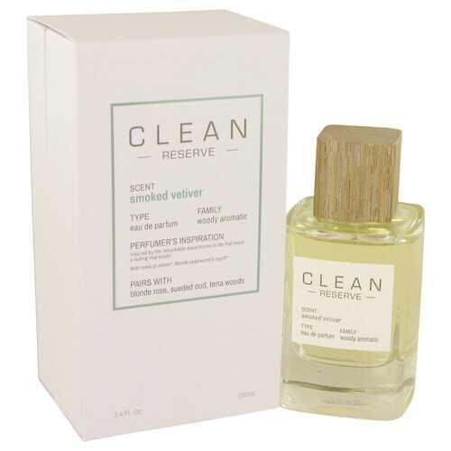Clean Smoked Vetiver by Clean Eau De Parfum Spray 3.4 oz (Women)