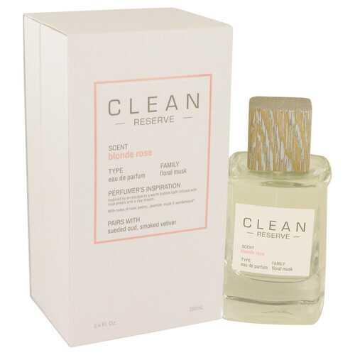 Clean Blonde Rose by Clean Eau De Parfum Spray 3.4 oz (Women)