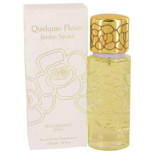 Quelques Fleurs Jardin Secret by Houbigant Eau De Parfum Spray 3.4 oz (Women)