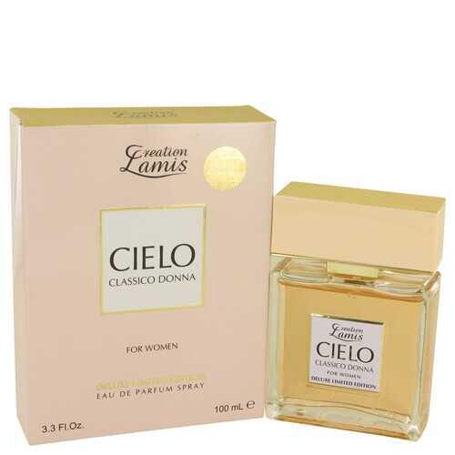 Lamis Cielo Classico Donna by Lamis Eau De Parfum Spray Deluxe Limited Edition 3.3 oz (Women)